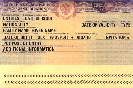 Of Russian Visa Services For